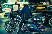 State Trooper on Motorcycle — Stock Photo