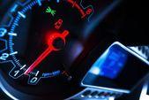 Цифровой автомобиль Dashboard — Стоковое фото