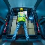 Cargo Van Loading — Stock Photo #75573709