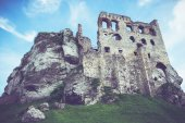 Medieval Polish Castle — Stock Photo