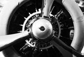 Hélice de avión vintage — Foto de Stock