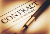 Contract Signing Concept — Stock Photo