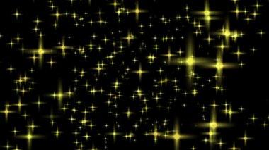 Luminous stars — Stock Video