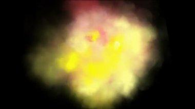 Colored smoke — Stock Video