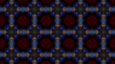 Multicolored bubbles on black — Stock Video