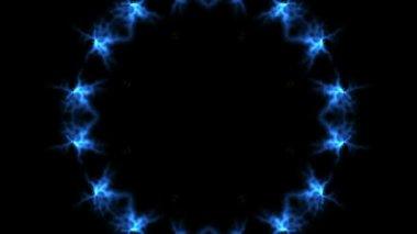 Small explosions kaleidoscope — Vídeo de stock