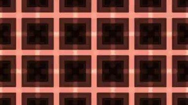 Digital kaleidoscope graphic — Stock Video