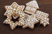 ジンジャーブレッドのクッキー. — ストック写真