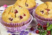 Homemade muffins — Stock Photo