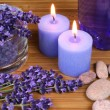 Lavender spa — Stock Photo #68949517