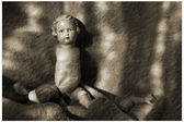 Antique doll (7) — Stock Photo