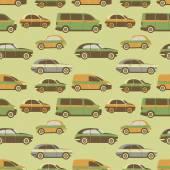 Seamless pattern car — Stockvektor
