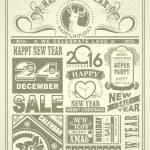 Christmas newspaper — Stock Vector #54967133