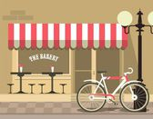 City Bakery — Stock Vector