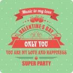 Calligraphic Elements Valentines Day — Stockvector  #61901551