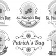 Calligraphic Design Elements St. Patrick's Day — Stock Vector #62525613