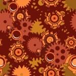 Seamless pattern Steampunk mechanism — Stock Vector #75906993