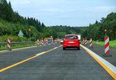 Interstate scenery in germany — Stock Photo