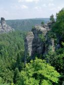 Saxon Switzerland — Stock Photo