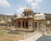 Gaitore Cenotaphs in Jaipur — Stock Photo