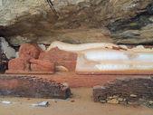 Sleeping buddha statue — Stock Photo