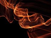 Stringed light effect — Stock Photo