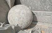 Metal ball — Stock Photo