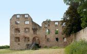 Castle ruin in Oppenheim — Zdjęcie stockowe