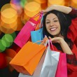 Happy girl shopping — Stock Photo #61637729