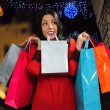 Happy girl shopping — Stock Photo #62913447