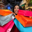 Happy girl shopping — Stock Photo #62913727
