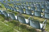 Outdoor chairs — Stock Photo