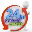 24 hour suport center — Stock Photo #54830183
