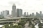 Singapore City View — Stock Photo