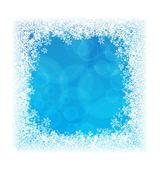 Blue Frozen background — Stock Vector