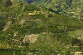 Rural Landscape in Central Ecuador — Stock Photo
