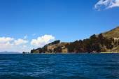 Shore of Lake Titicaca at Tiquina, Bolivia — 图库照片