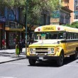 ������, ������: Old Chevrolet Bus in La Paz Bolivia