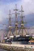 Replica of the Ship Esmeralda in Iquique, Chile — Stock Photo
