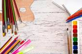 Položky pro kreslení — Stock fotografie