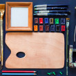 Artist tools — Stock Photo #68996533