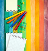 Office supply concept — Stock Photo