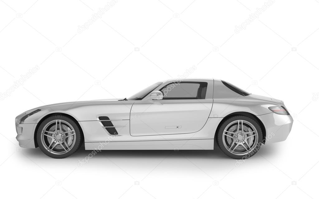 voiture de sport mock up sur fond blanc illustration 3d photographie pozitivo 92712992. Black Bedroom Furniture Sets. Home Design Ideas