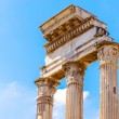 Temple of Castor and Pollux in Rome, Italy — Stock Photo #58449905