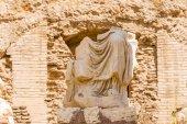 Old sculpture on Roman Forum, Rome, Italy. — Foto Stock