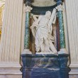 Sculpture in Basilica of Saint John Lateran in Rome, Italy. — Stock Photo #58451711
