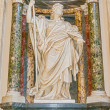 Sculpture in Basilica of Saint John Lateran in Rome, Italy. — Stock Photo #58452235