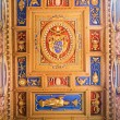 Ceiling in Basilica of Saint John Lateran in Rome, Italy. — Stock Photo #58452703