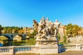 Bridge Sculpture, Rome, Italy — Stock Photo