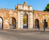 Porta San Giovanni at Piazzale Appio, Rome, Italy — Zdjęcie stockowe